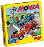 HABA Monza A Car Racing Board Game Encouraging Tactical Thinking - Ages 5 and Up (Made in Germany)