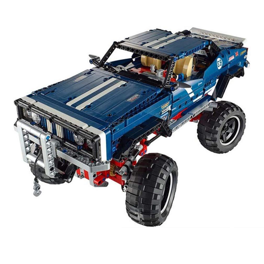 P1030 3d DIY 1605 パズル 1605 DIY PCS ビルディングレンガテクニックおもちゃ SUV、スーパー SUV ビルディングブロック子供のおもちゃ子供の休日の贈り物 Blue B07QMHVT7Y, アビィニューヨーク:8db28f0c --- m2cweb.com