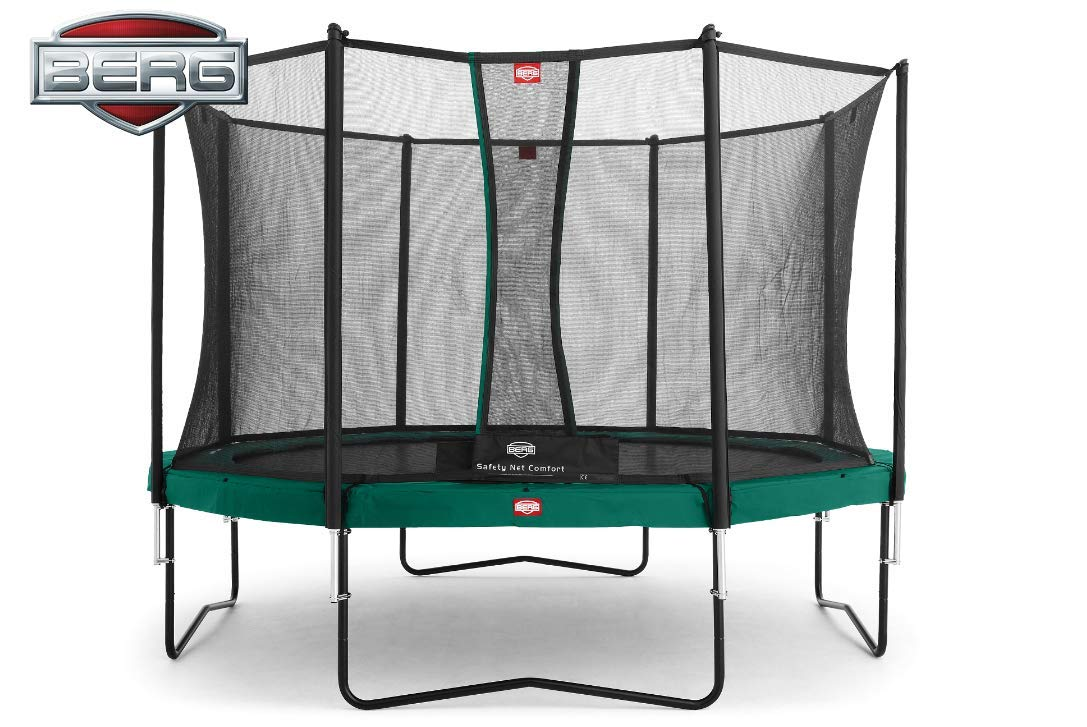 Berg Cama elástica Champion 430 (14ft) con Red de seguridad ...