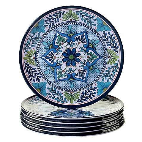 Certified International Talavera Dinner Plate 11