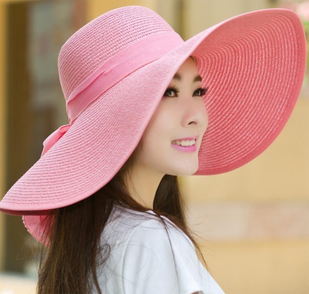chic PW Sombrero plegable playa sombrero de sol sombrero de sol ...