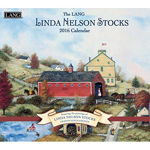 Lang Wall Calendar by Linda Nelson Stocks, January 2016 to December 2016, 13.375 x 24 Inches (1001924)