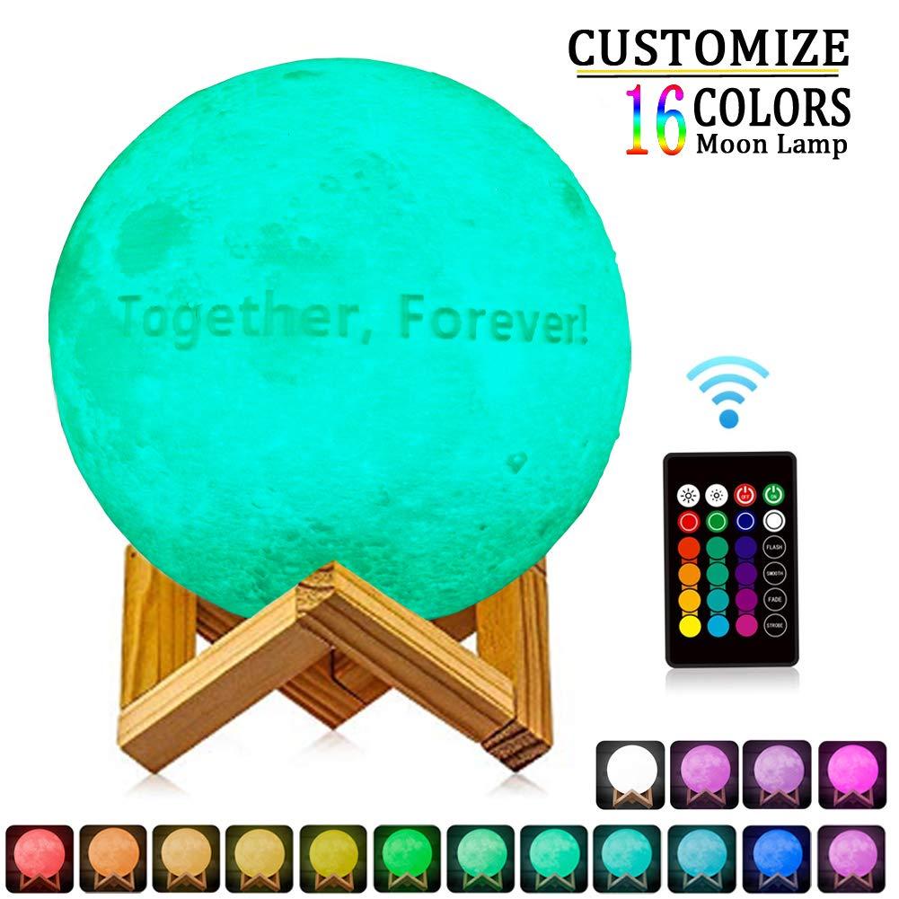 Foto personalizada De La Lámpara,16 Colores Impresión 3D ...