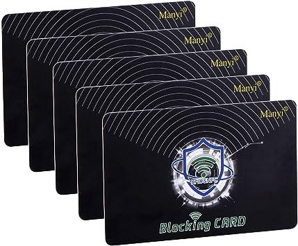 RFID Blocking Credit Bank Card Protection NFC Contactless Shield Signal Blocker