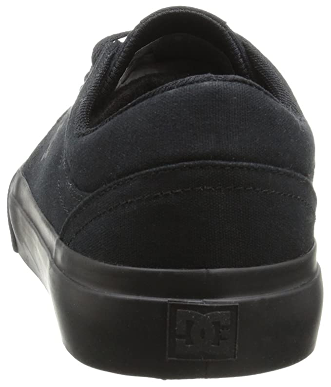 cheap for discount 931ac 33c45 Amazon.com   DC Women s Trase TX Skate Shoe Black, 4 D D US   Skateboarding