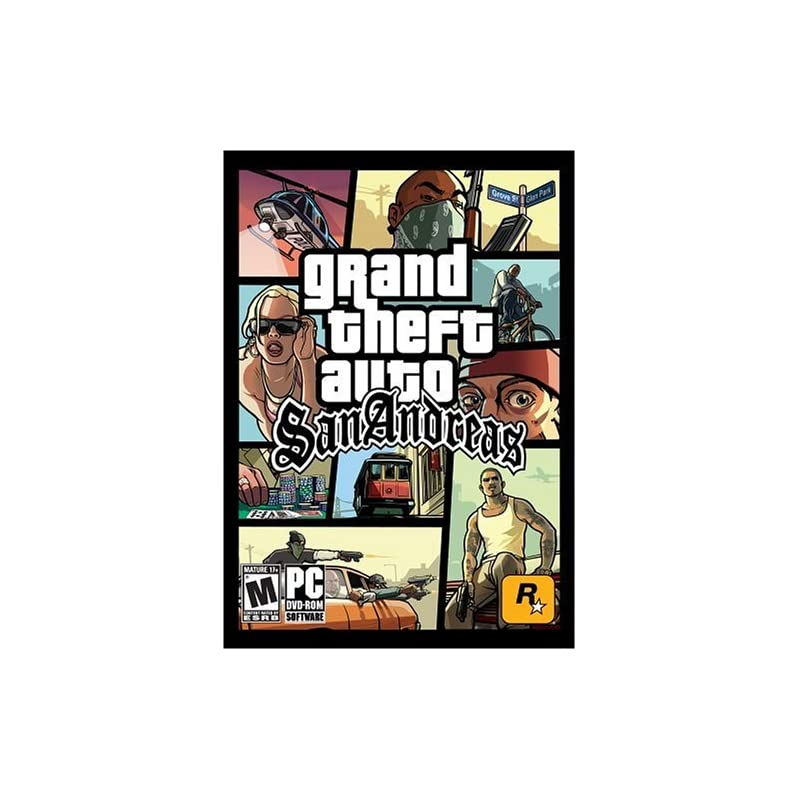 Grand Theft Auto: San Andreas ( DVD-ROM