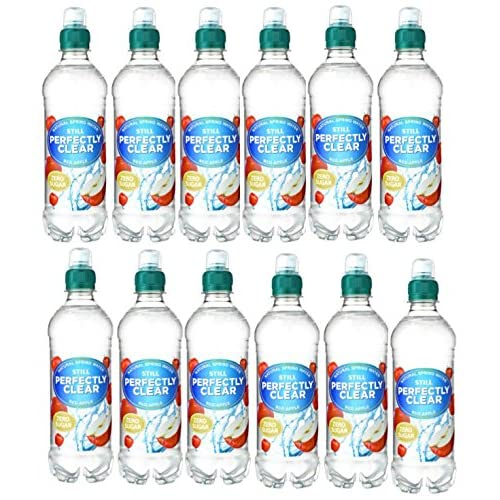 Perfectly Clear Still Red Apple Flavoured Water 500ml x 12