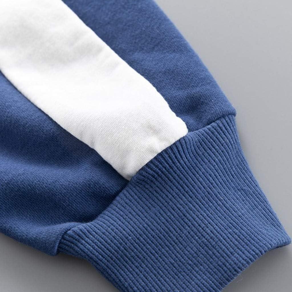 Solid Color Pants 2Pcs Outfit DressLksnf Toddler Kids Boys Girls Tracksuits Bear Print Hooded Pullover T-Shirt Long Sleeve Tops