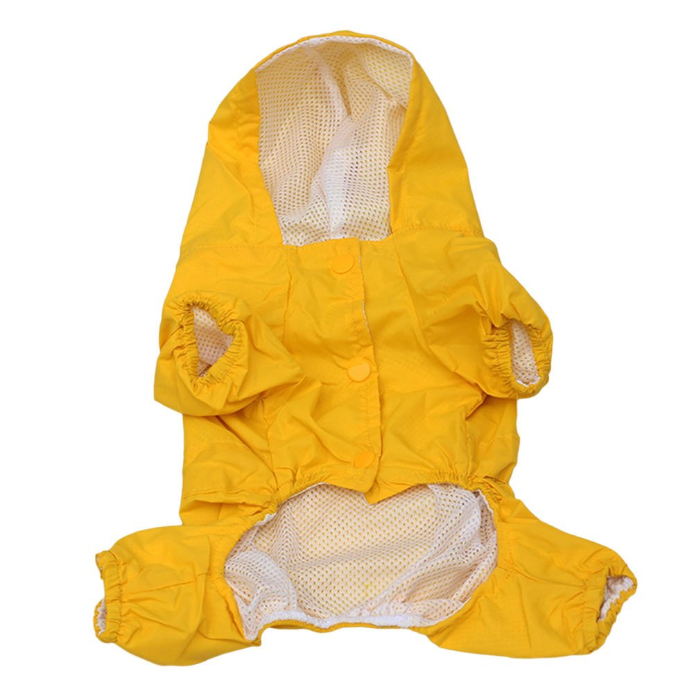 CAN_Deal Mascota Perro Impermeables Chubasqueros para Pequeños y Medianos Perros - Impermeable Chanqueta con Capucha -Lluvia Impermeable