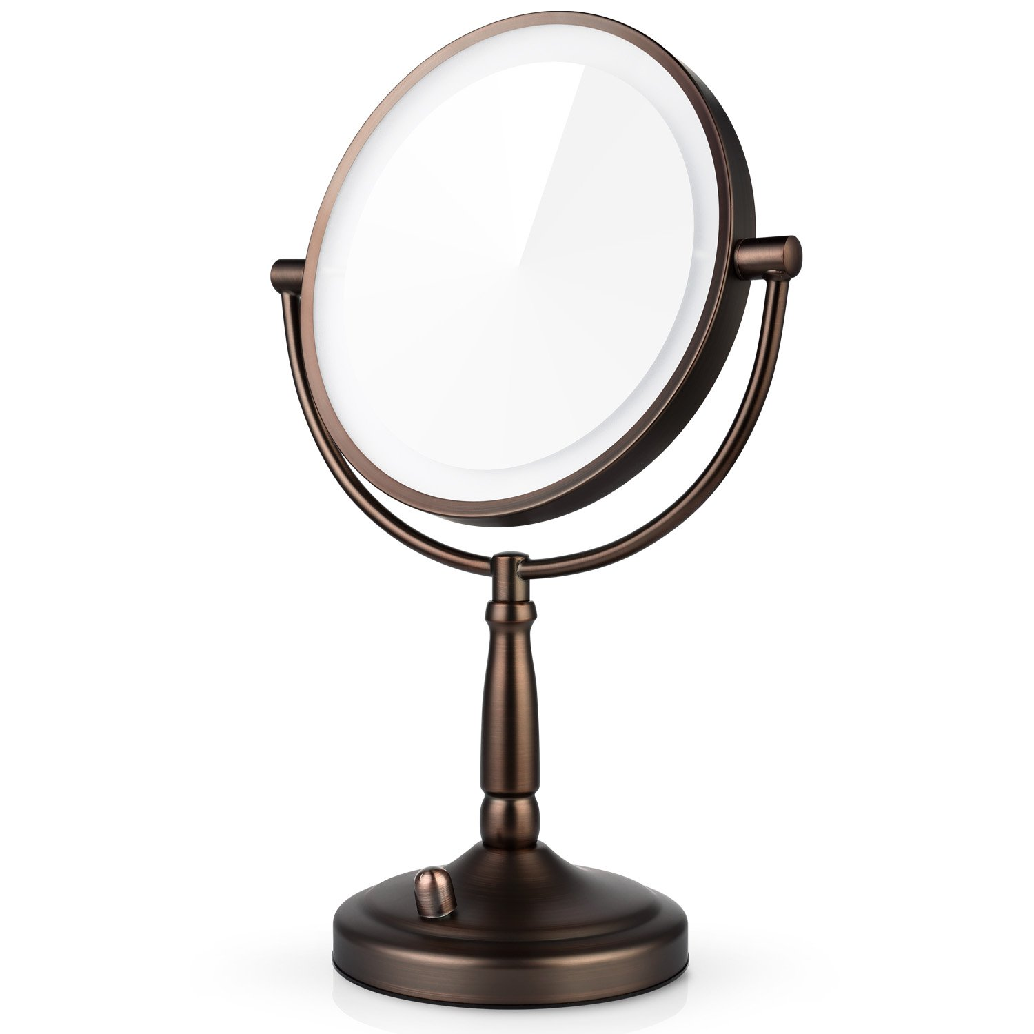 Amazon Com Miusco 7x Magnifying Lighted Makeup Mirror 8