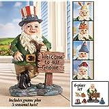 Seasonal Holiday Gnome Greeter