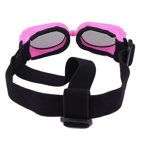 Gafas de sol para mascotas, con protección UV, impermeables, cortavientos y con efecto antivaho para mascotas pequeñas
