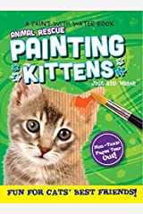 Animal Rescue Paint with Water Activity Book-Fun for Cats' Best Friends Paperback