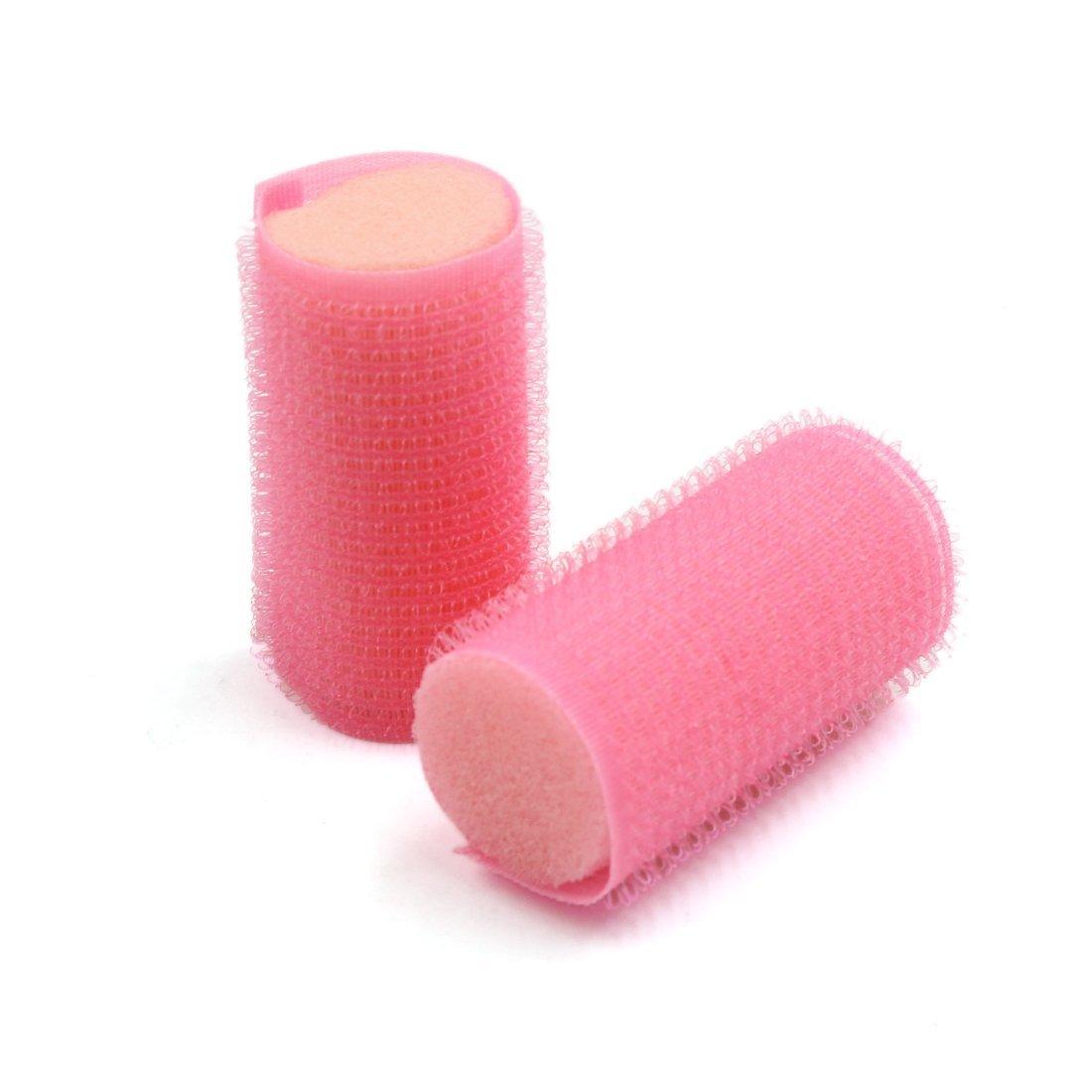 Amazon.com: Herramientas eDealMax 20 piezas de esponja rosada DIY Pelo ondulado de Los bigudíes de Los rodillos que Labra Para las Mujeres: Health ...