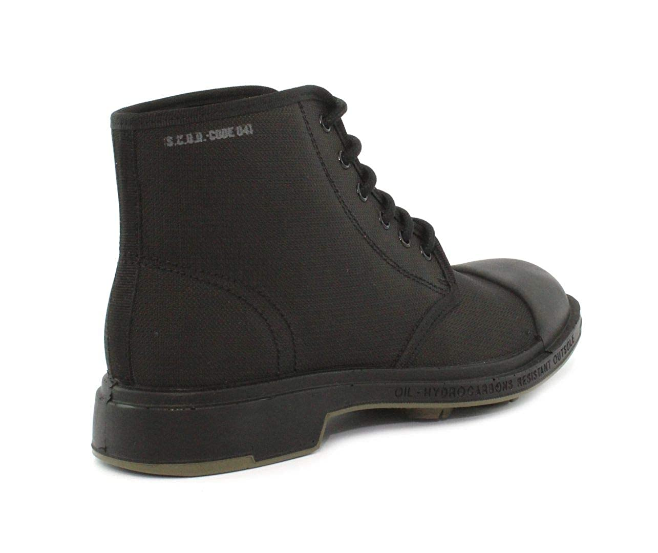 Pezzol Scud041fz11 Black Anti Chaussures Boots Cut 1951 gS7qvfga