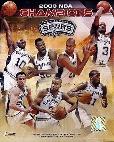 San Antonio Spurs 2003 NBA Championship  - Spurs Photo Shopping Results
