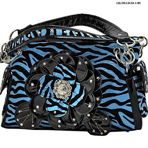 Western Metallic Concealed Rhinestone Handbag product image