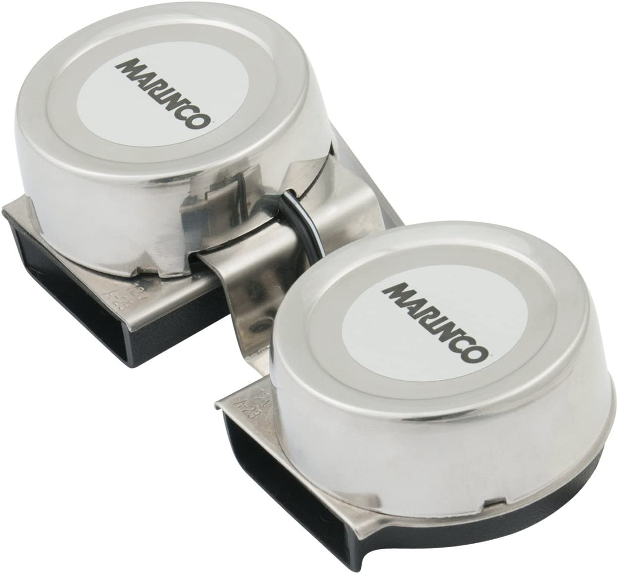 AFI 10001 Marinco Mini Twin Electric Horn : Boat Horns : Sports & Outdoors
