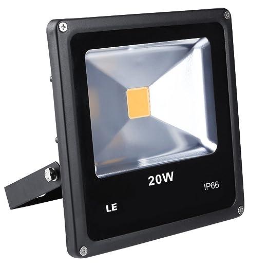 LE Foco proyector LED Blanco cálido 20W ~ 200W Halógeno ...