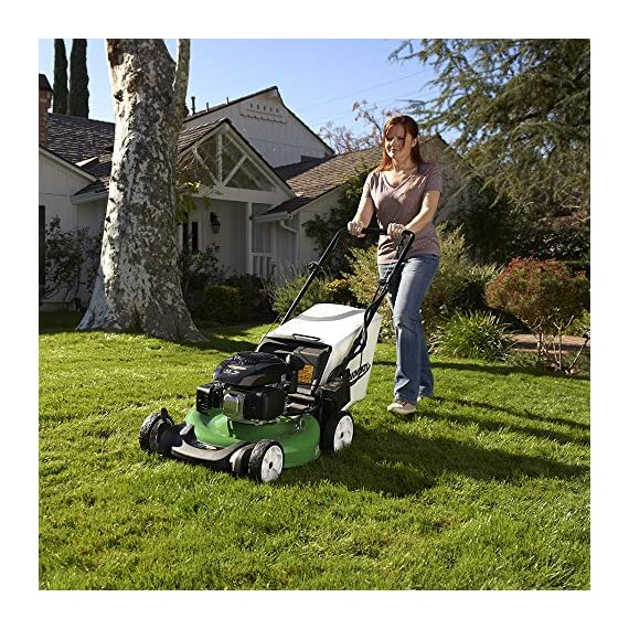 Lawn-Boy 17734 21-Inch 6.5 Gross Torque Kohler Electric Start XTX OHV, 3-in-1 Discharge Self Propelled Lawn Mower 7 Electric start is the easiest way to start your mower; just turn the key and mow 2-Point Height-of-Cut System allows you to quickly adjust cutting heights from one side of the mower 3 year Tru-Start Commitment - starts with 1 or 2 pulls or Lawn-Boy will fix it for free