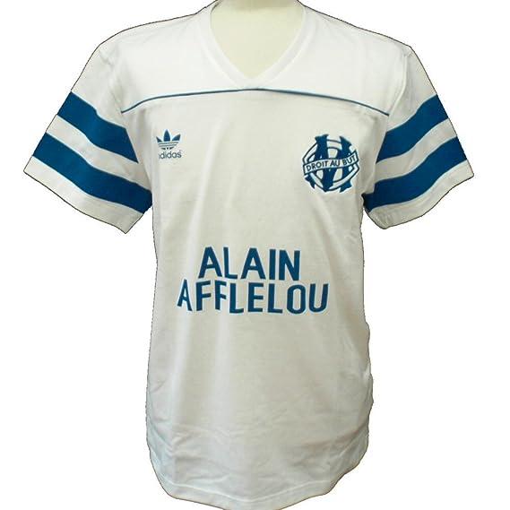 adidas Originals Camiseta del Olympique de Marsella Retro 1998/98 - pequeño: Amazon.es: Ropa y accesorios