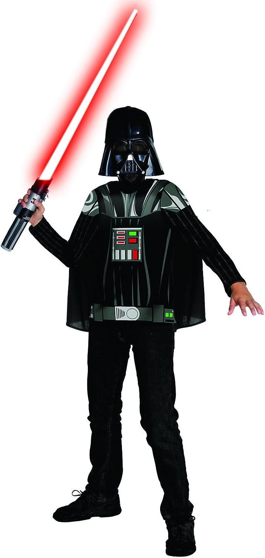 Darth Vader Kit de disfraz para niño: Amazon.es: Ropa y accesorios