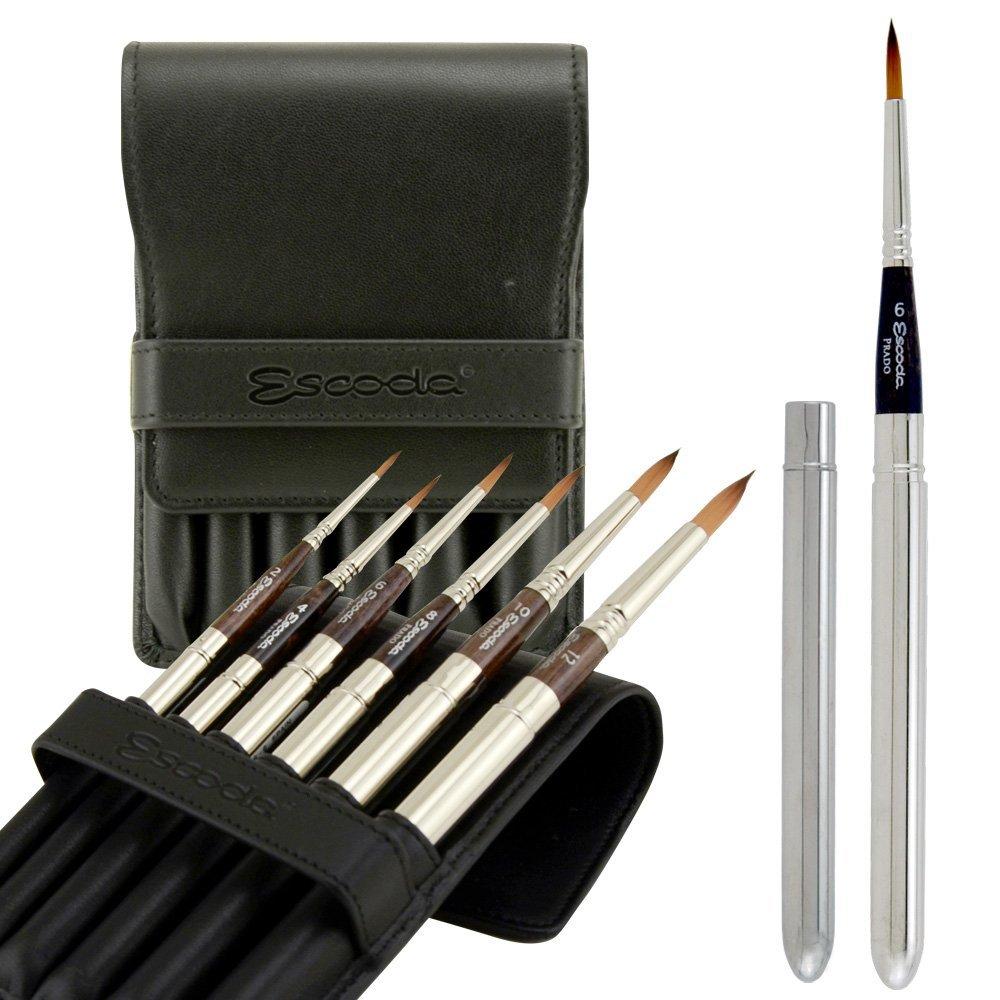 Escoda 1468 Travel Brush Set Of 6
