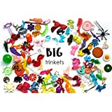 BIG Mixed trinkets for I spy sensory bins, Kids crafts, Learning activities, Miniatures, no doubles, 3-7cm, Set of 20/50/100 (20 trinkets)