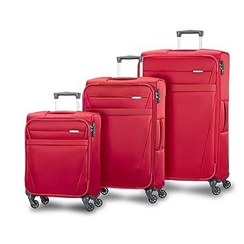 Samsonite - Juego de maletas unisex-adultos rojo rojo: Amazon.es: Equipaje