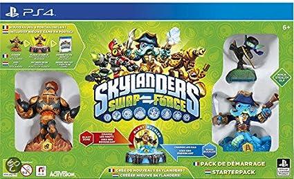 Sony Skylanders: Swap Force Starter Pack, PS4 PlayStation 4 vídeo - Juego (PS4, PlayStation 4, Arcada, E10 + (Everyone 10 +)): Amazon.es: Videojuegos