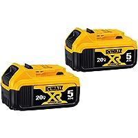 2-Pack DewaIt 20V Max XR 20V Battery 5.0-Ah DCB205-2 Deals