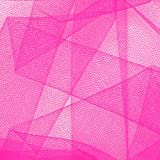 54in Wide Tulle Fuchsia Fabric By The Yard