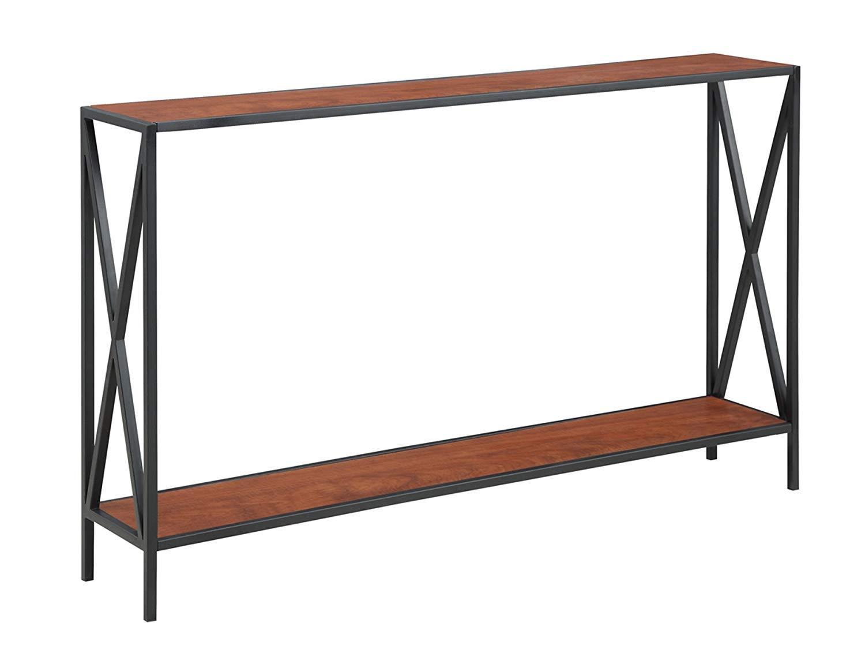 Convenience Concepts 161899 Tucson Collection, Console Table, Cherry & Black