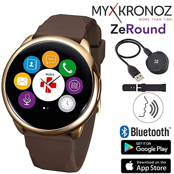 Amazon.com: ZeRound Touchscreen Waterproof Voice-Activated ...