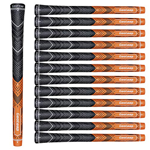Geoleap ACE-C Golf Grips Set of 13- Cord Rubber