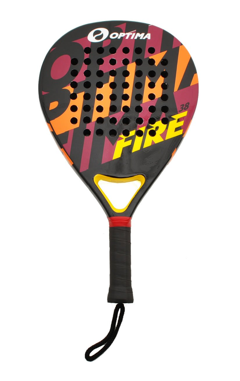 Amazon.com : Optima FIRE Carbon Beach Platform Tennis Paddle - Padel Raquet : Paddle Tennis Rackets : Sports & Outdoors
