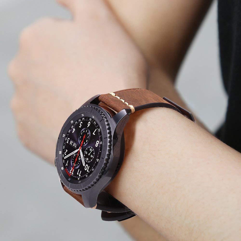 Fintie Correa para Samsung Galaxy Watch 46mm / Gear S3 Frontier/Gear S3 Classic/Huawei Watch GT: Amazon.es: Electrónica
