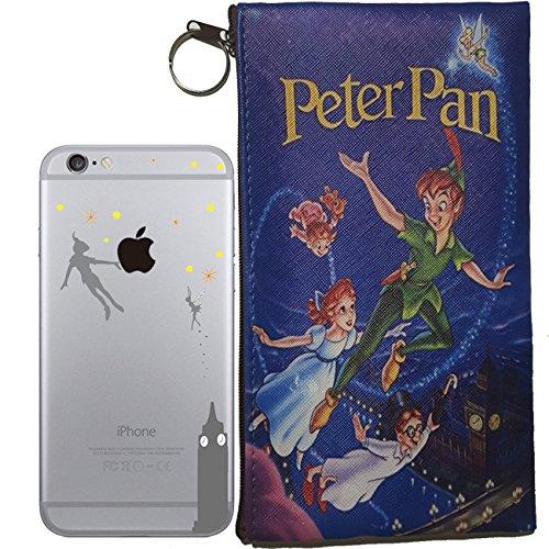 disneys-peter-pan-logo-semi-clear-transparent-case-for-apple-iphone-5-5s-se