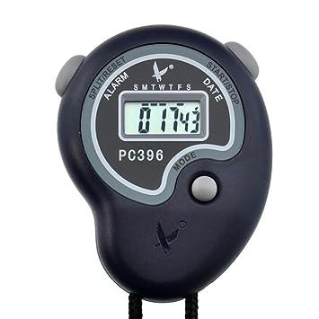 a7c668e4264d LEAP Cronómetro Digital Deportivo Cronógrafo de Cronómetro Pantalla LCD  Grande