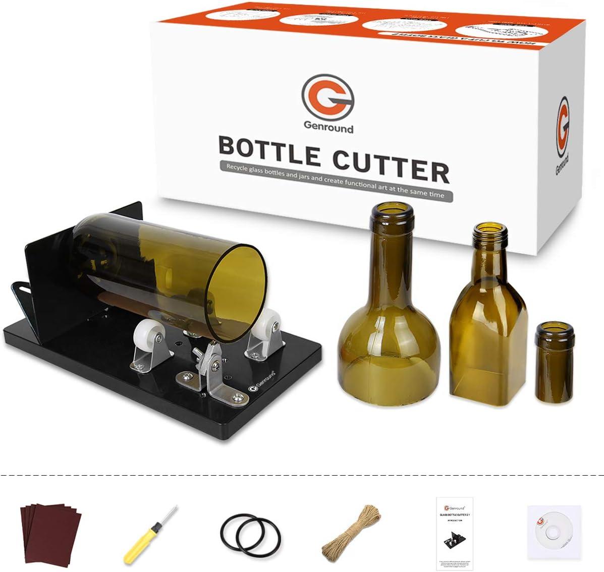5 cm 15 Glas Flaschen Cutter Lang Bier Wein Maschine Schneiden Werkzeug 18