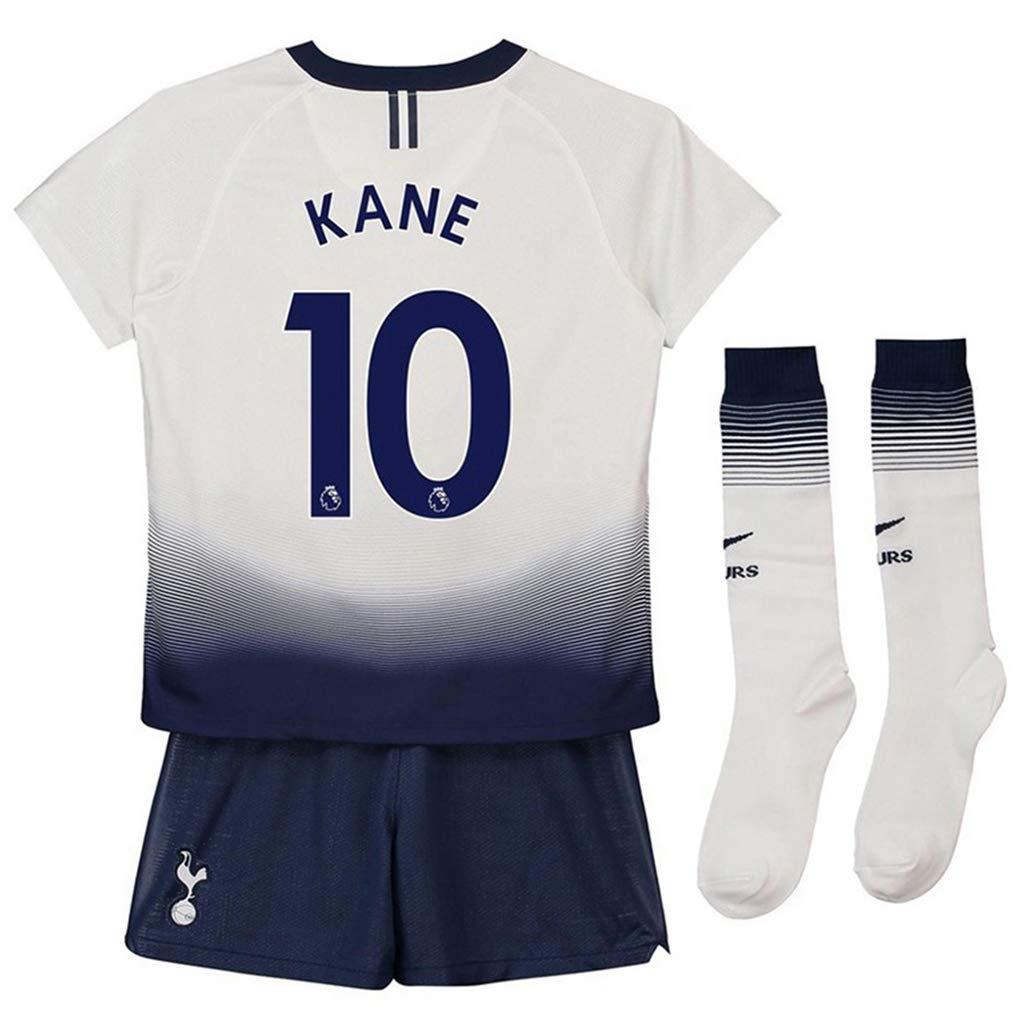 745f33663 Sports & Outdoors Speed Johng Tottenham Hotspur 2018/2019 Season #10 Kane  Youths/Kids Home Soccer Jersey & Shorts & Socks Boys