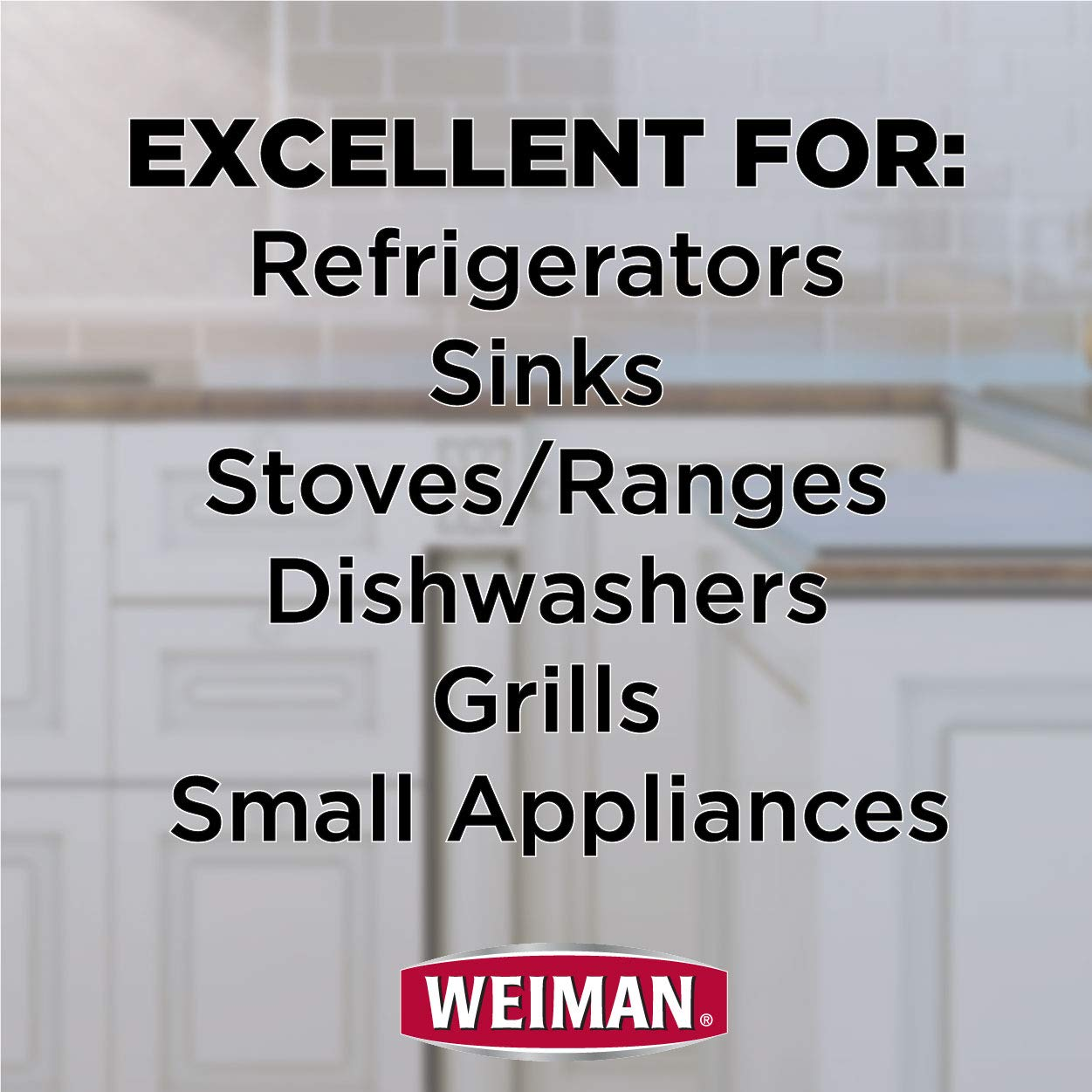 Weiman Stainless Steel Cleaner & Polish 22 fl oz - 6 pack by Weiman (Image #9)