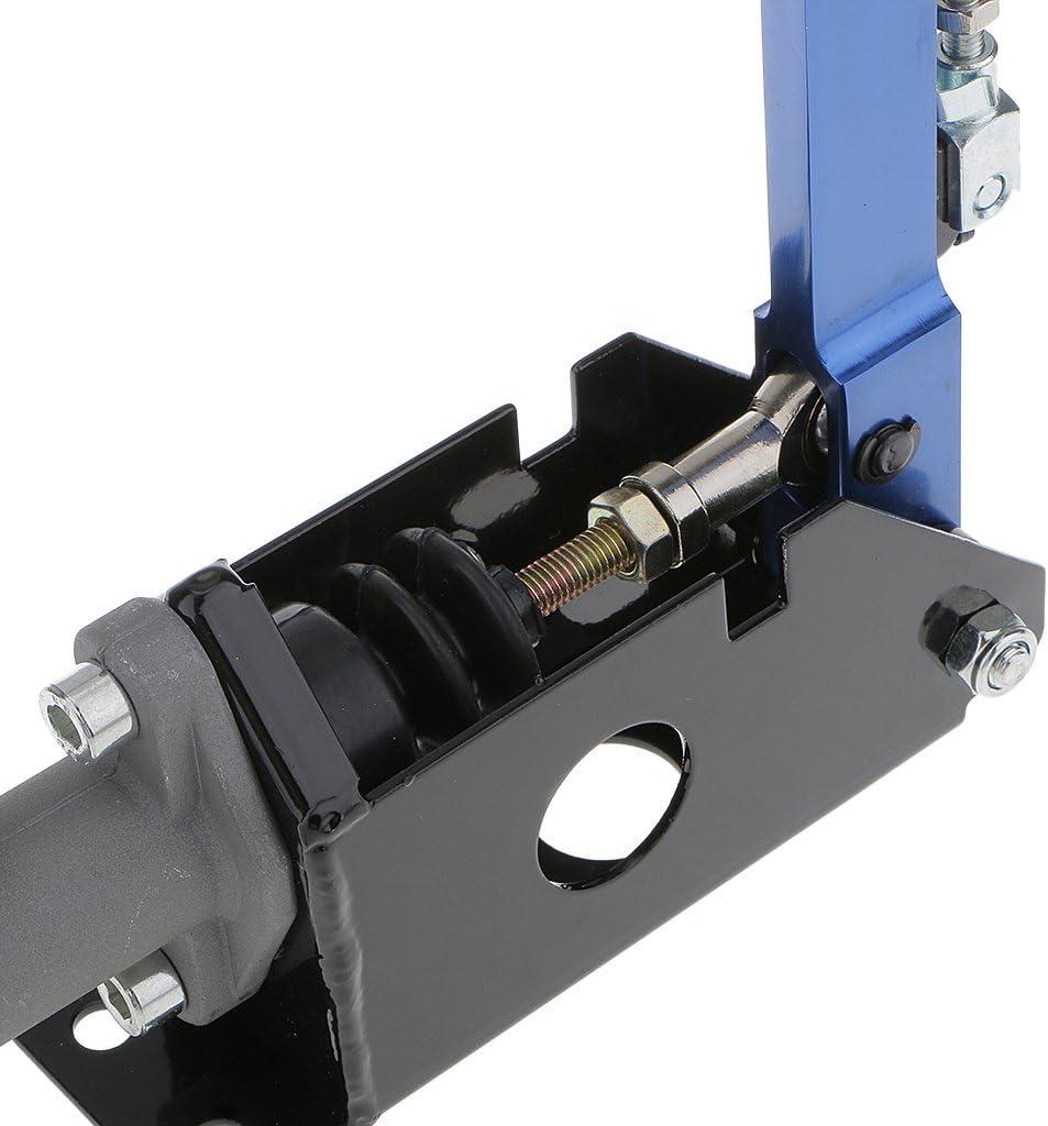 gazechimp CNC Machined Aluminum Hydraulic Drift Hydro E-Brake Racing Handbrake Lever Blue