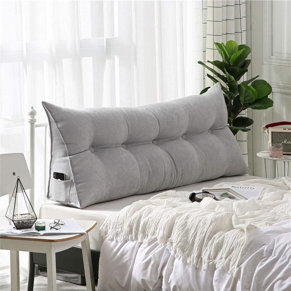 lixiong cuscini testiera letto pad lombare cuscino