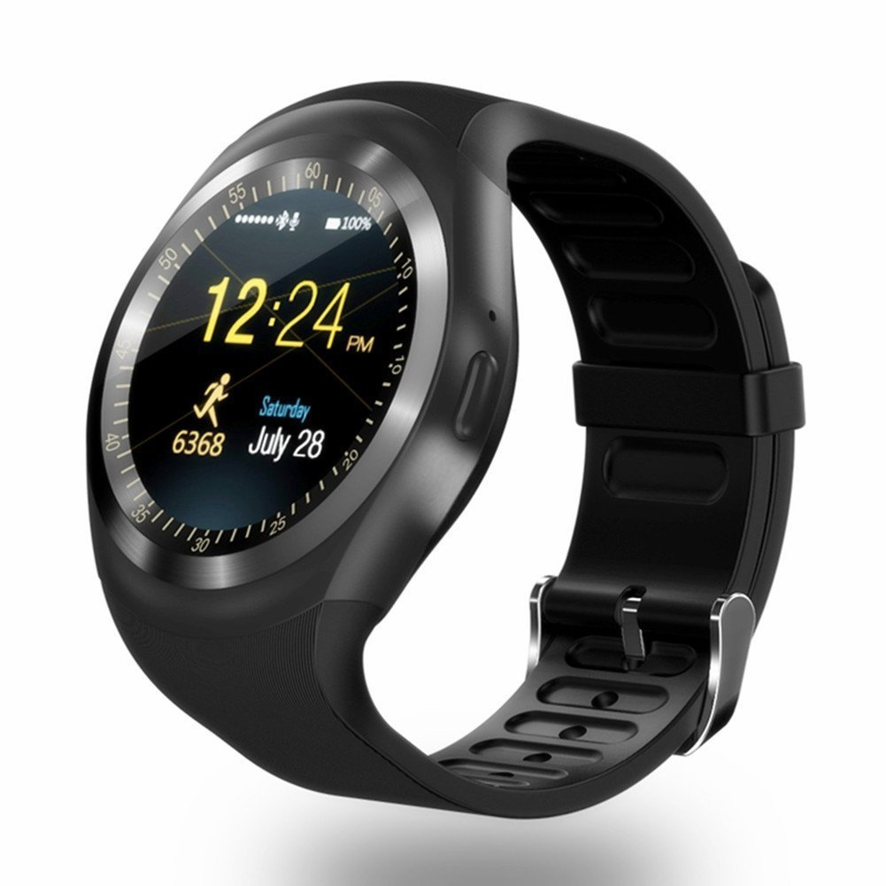 Amazon.com: Fitz Latest Bluetooth SmartWatch Support Micro ...