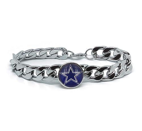 86aef3b0a8c06 Amazon.com: Devastating Designs Men's Women's Silver Stainless Steel ...