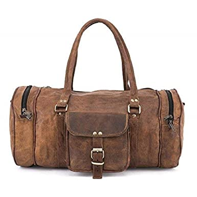 Amazon.com: Teka piel Duffle Bag: Clothing