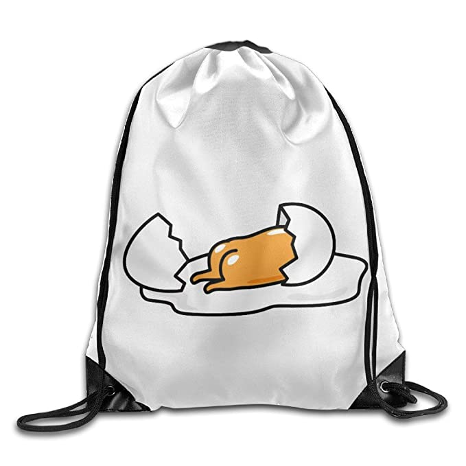 Gudetama Backpack Boy Girl Canvas Student School Bag Cartoon Shoulders Bag UK