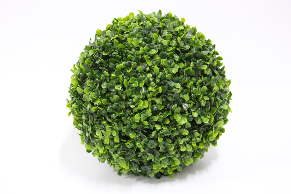 Porpora 19 inch Decorative Artificial Flower Ball (Boxwood) for Home Décor, Weddings and other Special Events