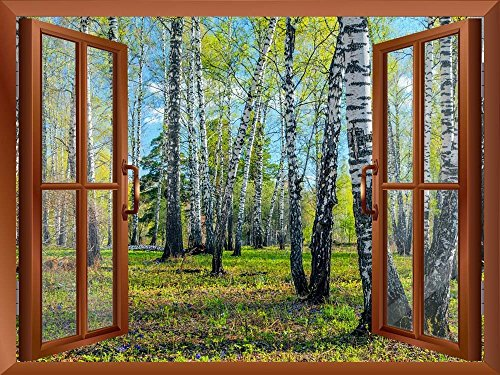 Spring Forest Removable Wall Sticker Wall Mural